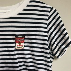 Uniqlo x Andy Warhol Embroidered Campbells Shirt
